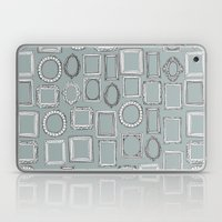 Picture Frames Grey Laptop & iPad Skin