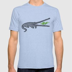 Crocodiles Mens Fitted Tee Athletic Blue SMALL