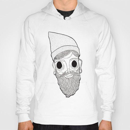 Beard Man Hoody