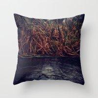 Deepwater Throw Pillow