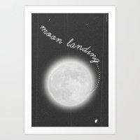 Moon Landing! Art Print