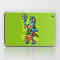 Laptop & iPad Skin featuring Zucchini by Artistic Dyslexia