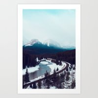 Canadian Rocky Mountains… Art Print