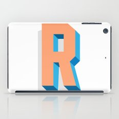 Letter R iPad Case