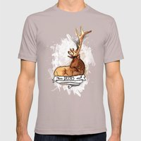 Deers Mens Fitted Tee Cinder SMALL