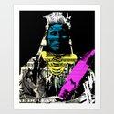 Indian Pop 92 Art Print