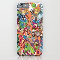 iPhone & iPod Case featuring These Sounds Fall into My Mind by Oliver Goddard