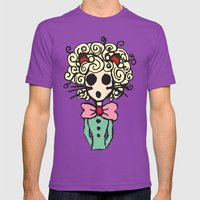 Ms Meow Mens Fitted Tee Ultraviolet SMALL