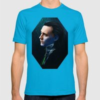 Who am I Mens Fitted Tee Teal SMALL