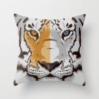 Tiger OWGW Throw Pillow