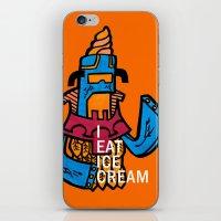 Ice Cream Czar iPhone & iPod Skin
