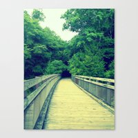 Into the Adventure Canvas Print