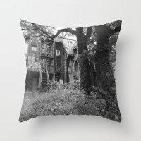 Overgrowth Throw Pillow