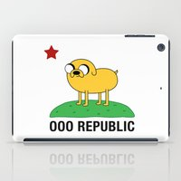 Ooo Republic iPad Case