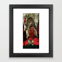 The Worm Of Saturn Framed Art Print