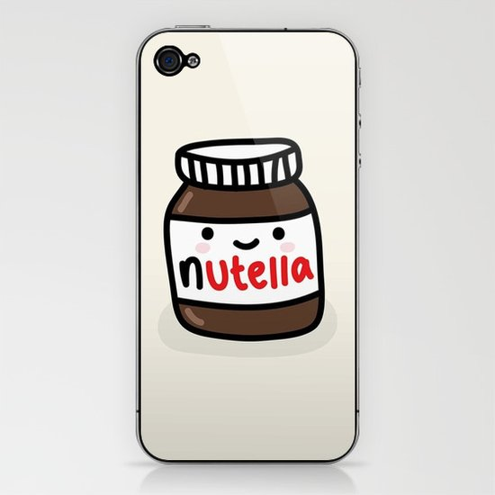 Nutella iPhone & iPod Skin