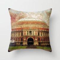 The Royal Albert Hall - … Throw Pillow