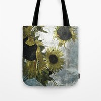 Autumnal Sunflowers Tote Bag