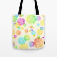 I'm Seeing Circles Tote Bag