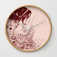 Fiction and Beauty Wall Clock