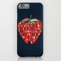 iPhone & iPod Case featuring Strawberry by Budi Kwan