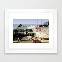Shop by the Bay Framed Art Print