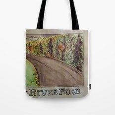River Road  Tote Bag