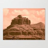 Bell Mountain, Sedona Ar… Canvas Print