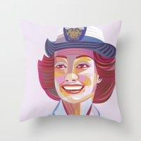 The 1940s  Throw Pillow