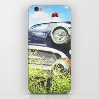 Cherries and Berries {Historic Cop Car} 1950's Buick  iPhone & iPod Skin