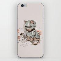 Robocat iPhone & iPod Skin
