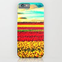 iPhone & iPod Case featuring TULIPS - for iphone by Simone Morana Cyla