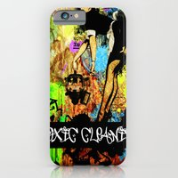 iPhone & iPod Case featuring Toxic Cleaning  by Zoé Rikardo