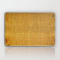 Burlap texture look Laptop & iPad Skin