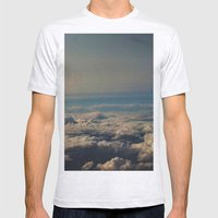 Above I Mens Fitted Tee Ash Grey SMALL