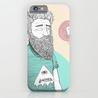 iPhone & iPod Case featuring BEARDMAN by Michael Todd Berland