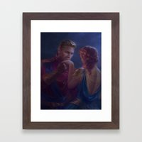 Cullen and Inquisitor - Hand Kiss Framed Art Print