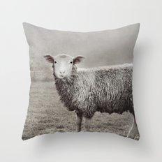 The Sheep Throw Pillow