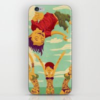 Tapete Voador iPhone & iPod Skin