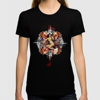 Kaleidoscope Woman Womens Fitted Tee Black SMALL