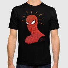 Spidey Mens Fitted Tee Black SMALL