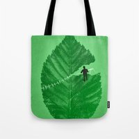 Loose Leaf Tote Bag