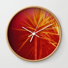 Plantlife Wall Clock
