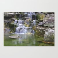 Waterfalls Color Photo N… Canvas Print