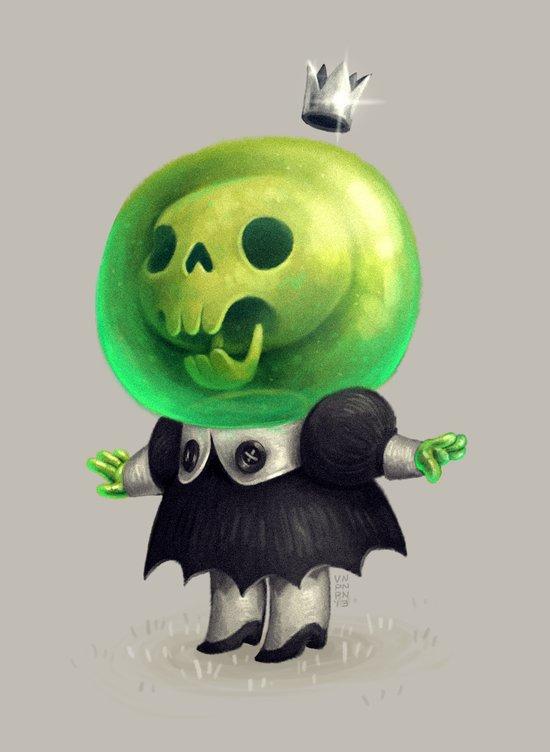 Slime Princess Art Print