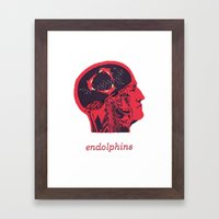 Endolphins Framed Art Print