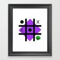 Kermit der frosch Framed Art Print