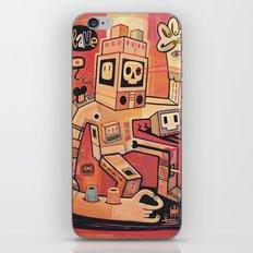 Esclaves Des Robots... N… iPhone & iPod Skin