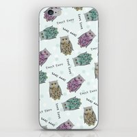 Tweet Twooo iPhone & iPod Skin