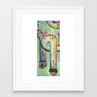 Pipe Dreams Framed Art Print